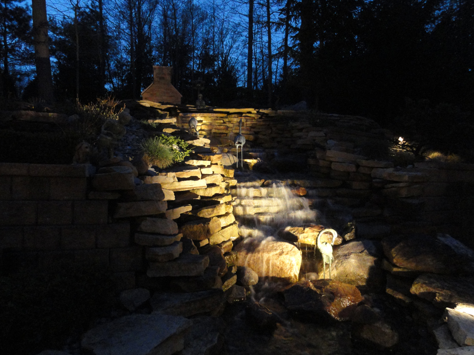 Water Feature Lighting Wolf Creek Company